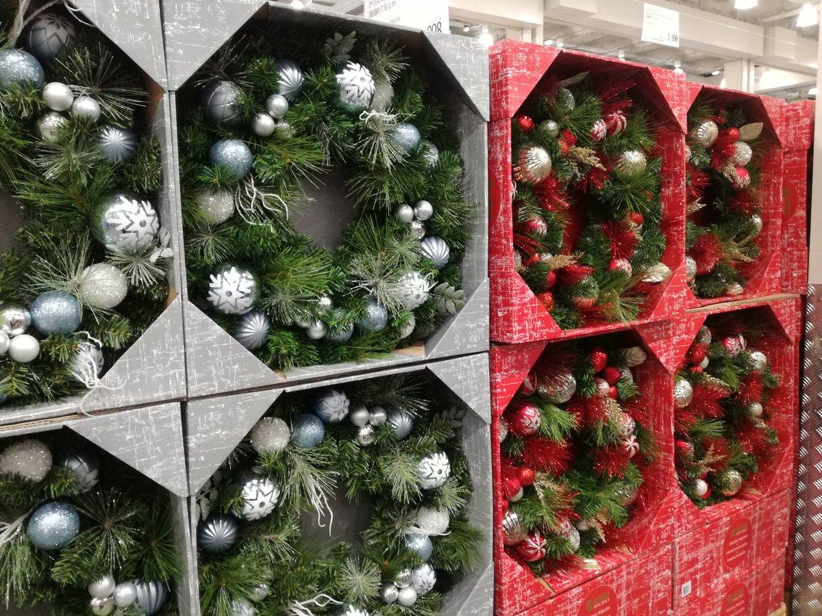 コストコのクリスマスリース